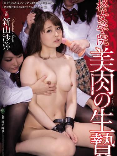 The Beautiful Carnal Sacrifice Of Hiragi Girls Academy, Saya Niiyama